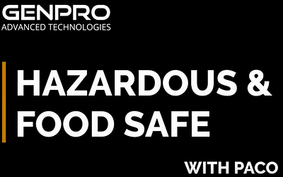 Hazardous and Food Safe LED Lights
