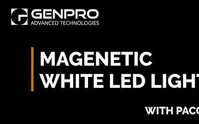 Magnetic White LED Light