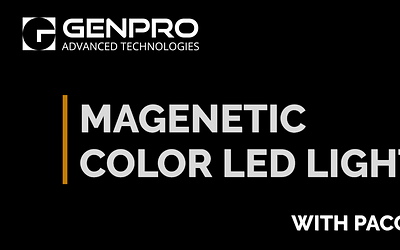 Magnetic Color LED Light